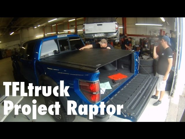 Project Raptor 6 Roll X Tonneau Bed Cover Installed Youtube