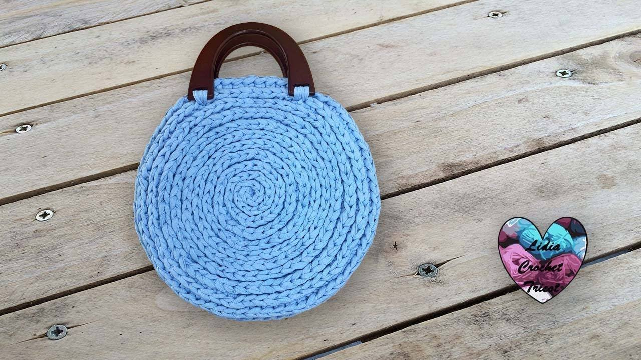 Sac Rond Tendance Crochet Très Facile Lidia Crochet Tricot
