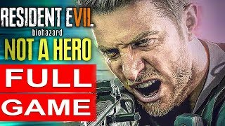 RESIDENT EVIL 7 NOT A HERO Gameplay Walkthrough Part 1 FULL GAME [1080p HD PC] - No Commentary