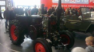 Motor Show 2013 Poznań - Lanz Bulldog - Proces odpalania ciągnika z 1942 roku