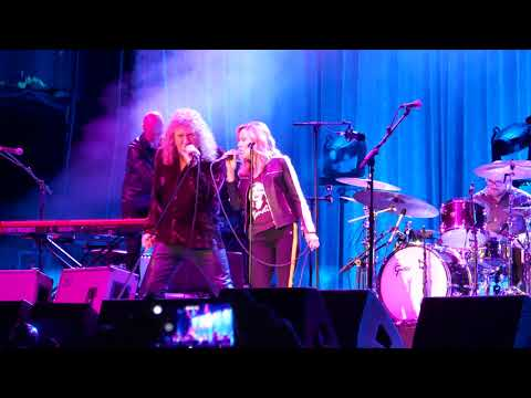 Robert Plant - Rock 'n Roll (with Sheryl Crow, Toronto, June 15, 2018)