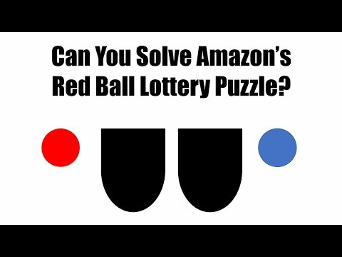 Can You Solve Amazon's Red Ball Lottery Interview Question Puzzle?