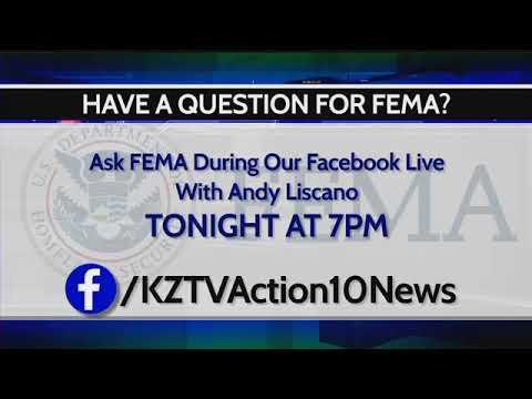 FEMA FB Live