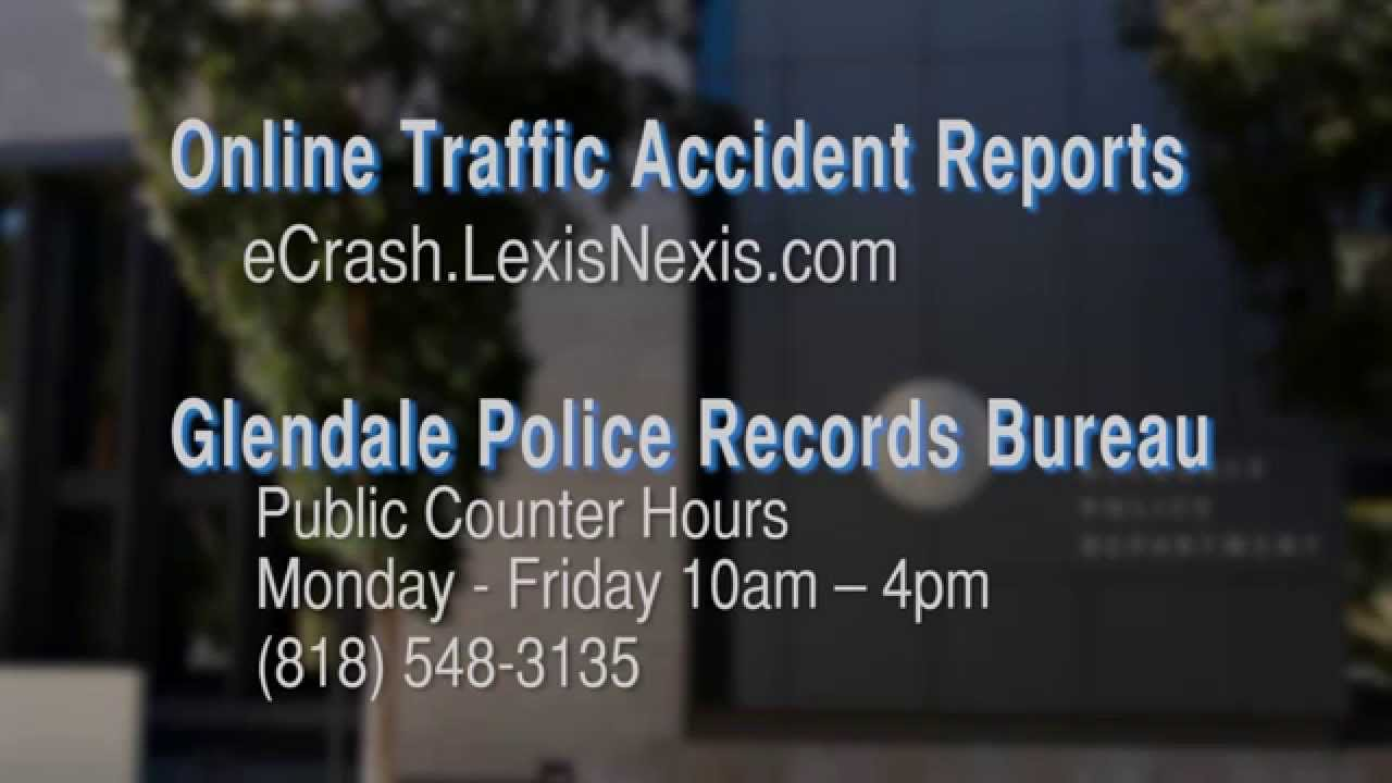eCrash - Online Traffic Accident Reports