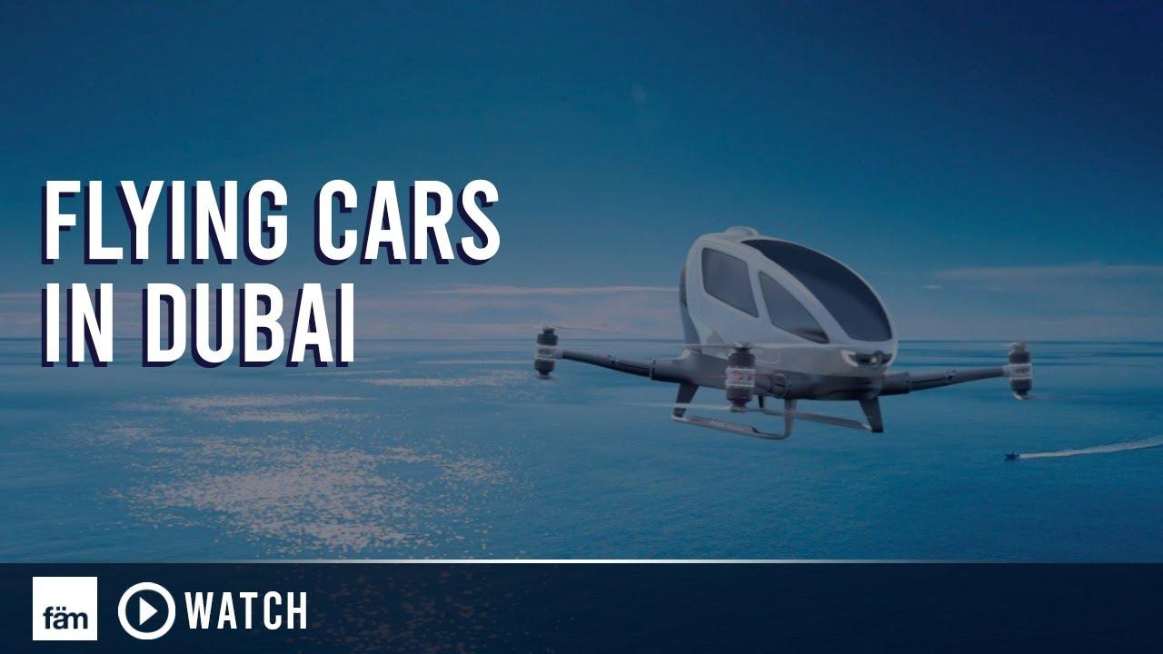 Flying Cars In Dubai Youtube