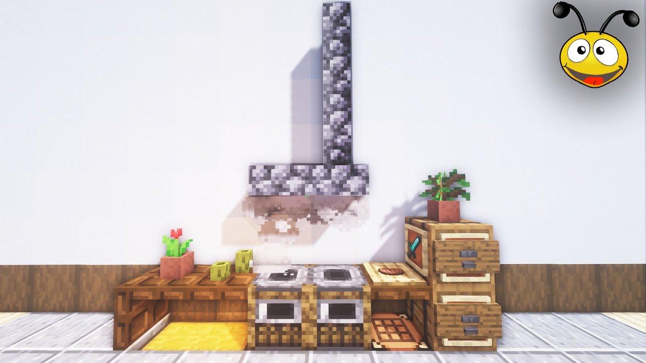 🍳 The Mini-Kitchen Design / Minecraft Interior Tutorials