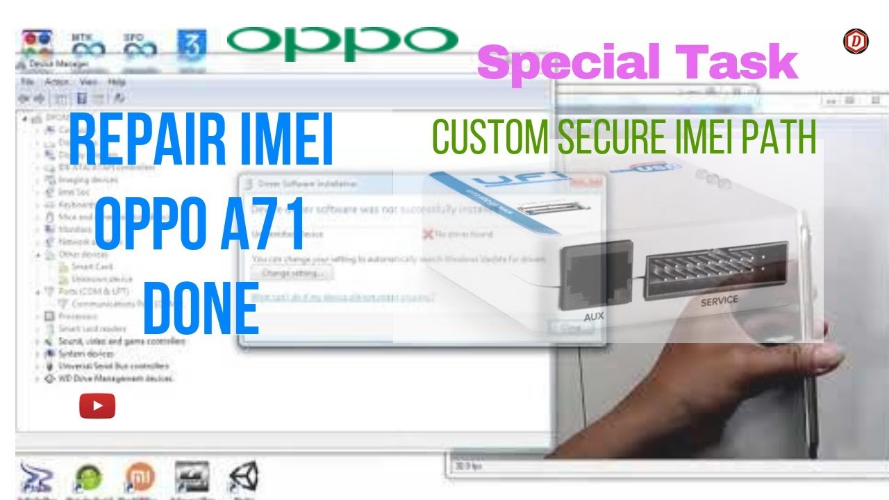 Oppo A71 CPH1717 Repair Imei Done by D'PONSEL