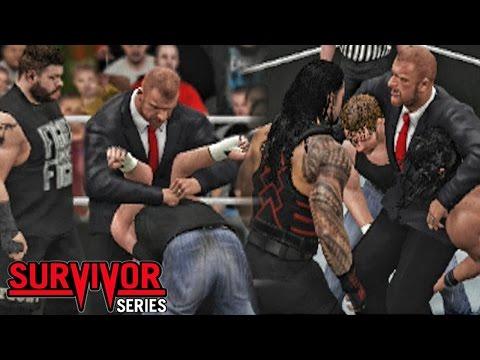 WWE Survivor Series 2016 -The Shield...