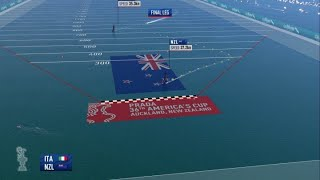 Team New Zealand storm to victory in America's Cup, beating Luna Rossa