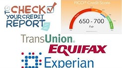 Credit Score Check - How to Check Your Credit Score Online |  TransUnion | Equifax | Experian |