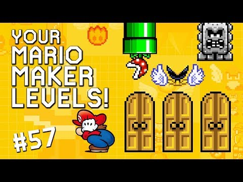 CHOOSE YOUR FATE: YOUR Mario Maker Levels #57