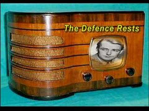 "Suspense ""The Defence Rests"" Part One Alan Ladd Oldtime Radio Drama"