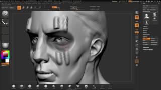 ZBrushCore - Paul Gaboury - Chapter 5 Using Masks