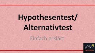 Hypothesentest/Alternativtest (TR+CAS/GTR) - Übung mit Lösung+Erklärung | Mathe