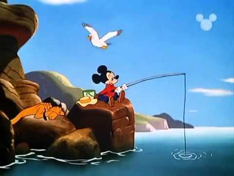 Cartoni Animati   Walt Disney   Topolino, Paperino e Pippo   Topolino a pesca= avi