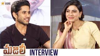 Majili Movie Exclusive Interview Naga Chaitanya Samantha Divyansha Shine Screens