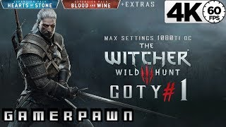 The Witcher 3: Wild Hunt 4K GOTY Edition 2160p 60fps Max Settings Death-March Part 1