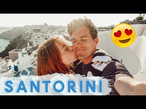 FIRST TIME TO SANTORINI, GREECE
