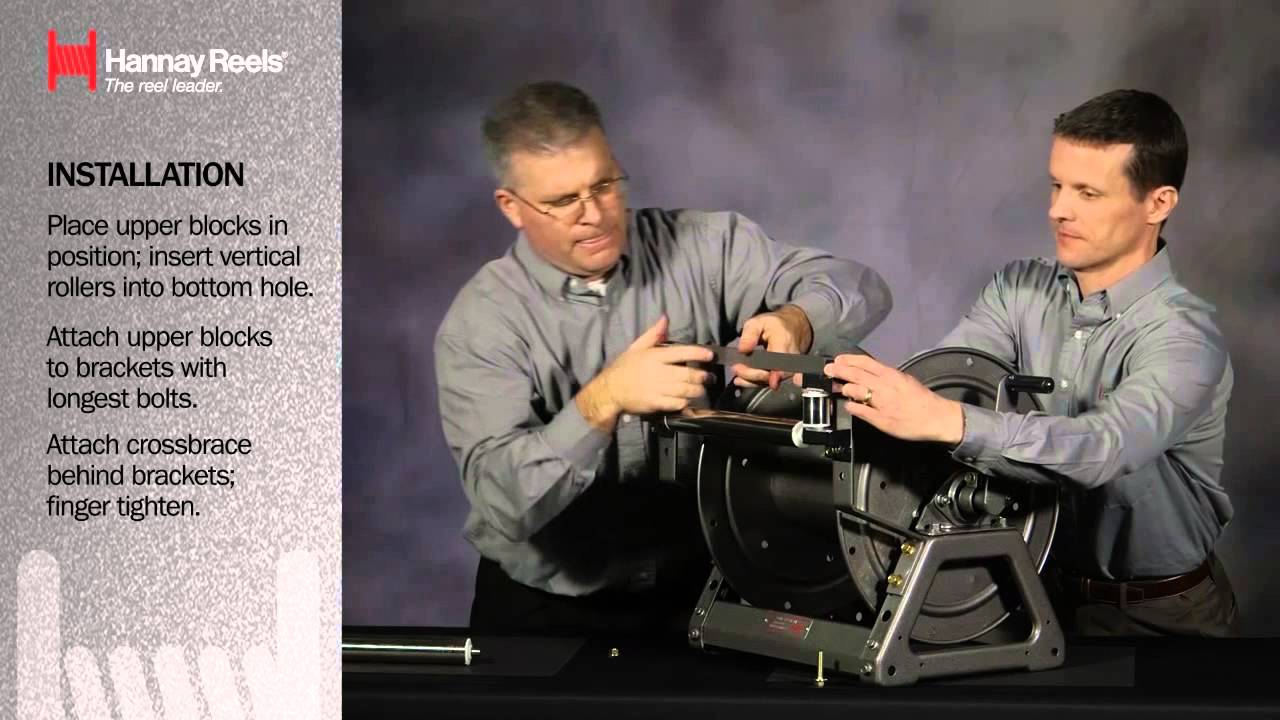 Hannay Reels   How To Install a Hannay Roller embly on