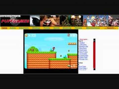 Marios Adventure 2 Flash Game on Puffgames.com