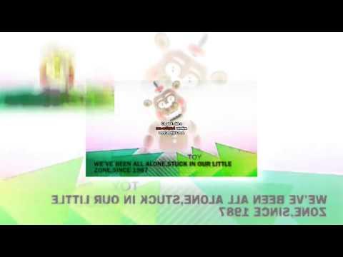 My FNAF Song Animatronic Voices Lyrics 2 Scan Video