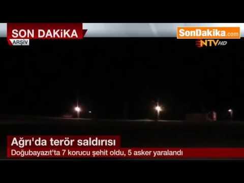 Ağrı Doğubayazıt'ta PKK'lılarla Çıkan Çatışmada 7 Korucu Şehit Oldu