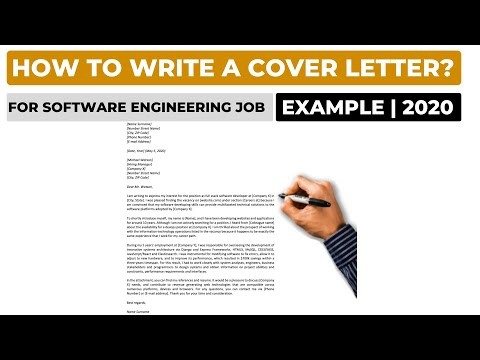 How To Write A Cover Letter For A Software Engineering Job? (2020) | Example