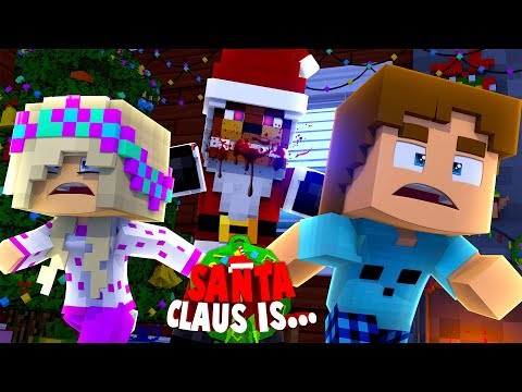 Minecraft FNAF FREDDY BECOMES EVIL SANTA CLAUS TO RUIN CHRISTMAS!! (Minecraft Roleplay)