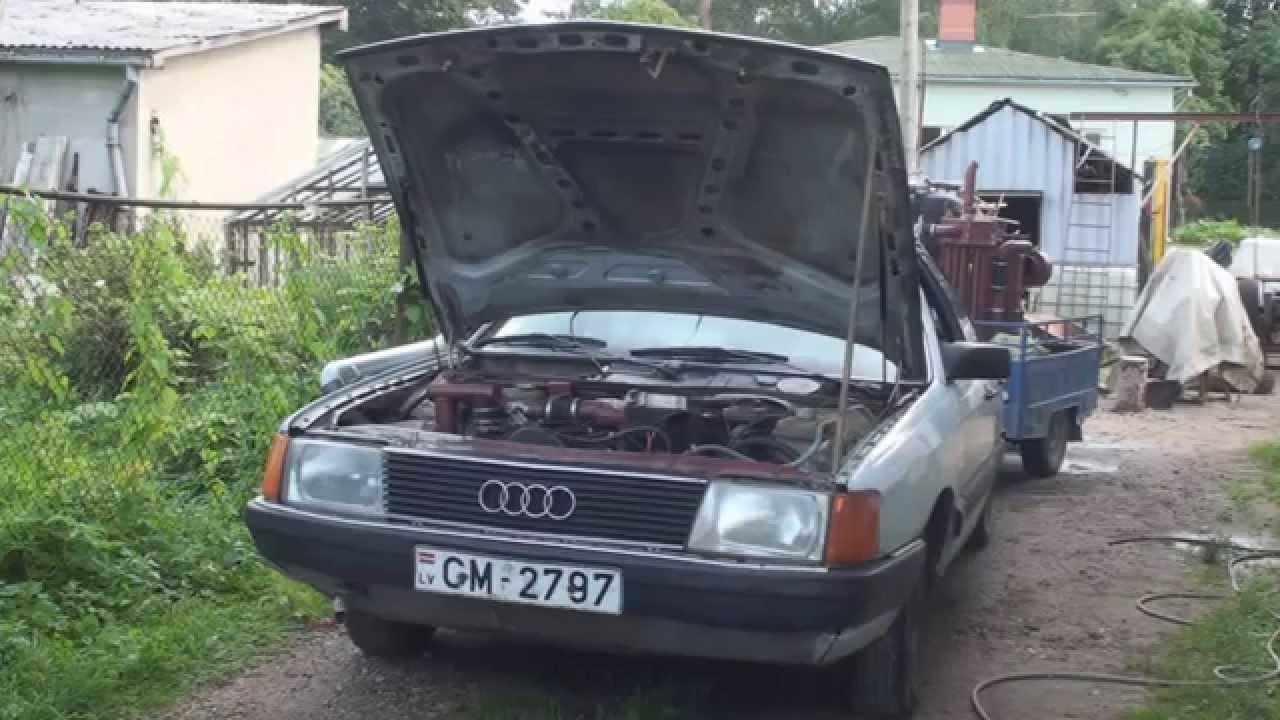 Il fabrique un gazogène pour sa voiture