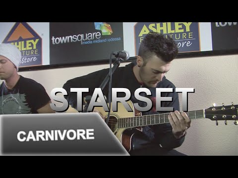 Starset Performs 'Carnivore' in the Ashley Furniture Hangout Lounge in Midland