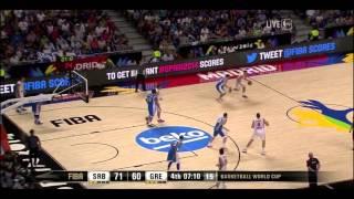 Bogdan Bogdanovic 21 Points vs Greece | 2014 FIBA World Cup / Round Of 16