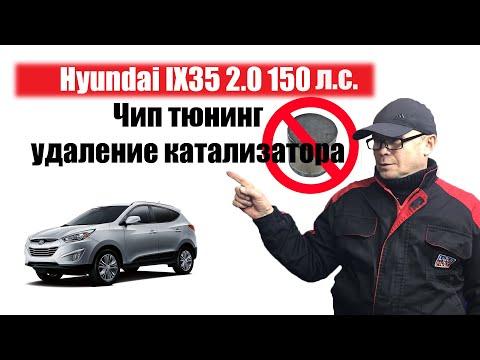 Тюнинг Hyundai Ix35. Чип тюнинг+Е2.