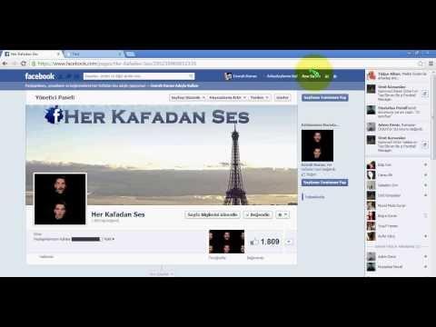Facebook Sayfa Kasma, Begendirme Hilesi Sorunsuz çalışyor Cok Basit... ED