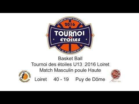6-Basket TDE 2016 U13M M11 Loiret 40 - 19 Puy de Dôme