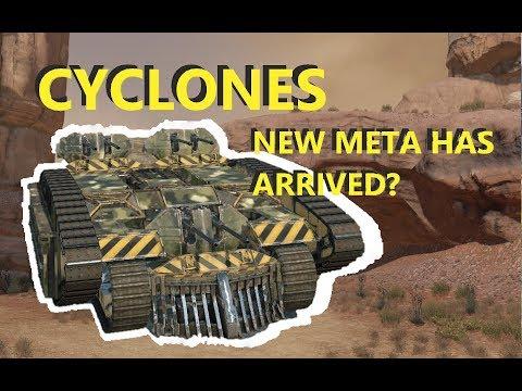 Crossout Honest Review - Cyclone - New meta gun?