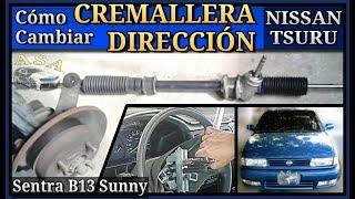 DIRECCIÓN, CREMALLERA,  Nissan Tsuru Sentra Sunny VOLANTE