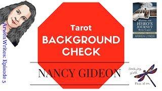 ArwenWrites: Nancy Gideon -- Background Check (Ep 5)