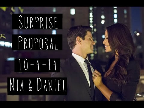 Surprise Engagement in NYC!  10414  TheBookos