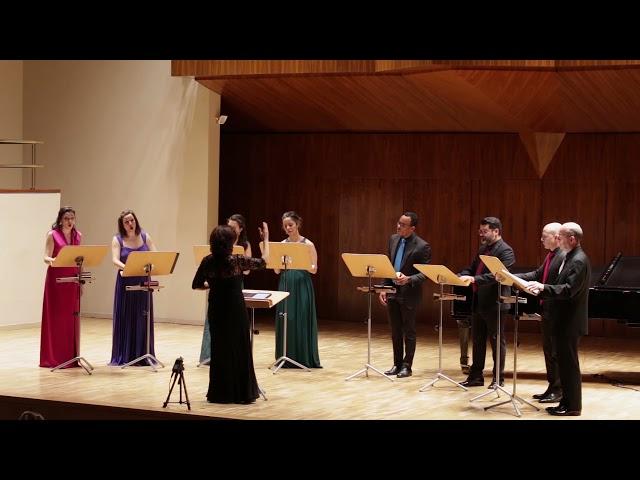 Campos de Galilea, Julio Gómez. Ensamble Vocal Mirtos. Dir.: Nuria Fernández Herranz