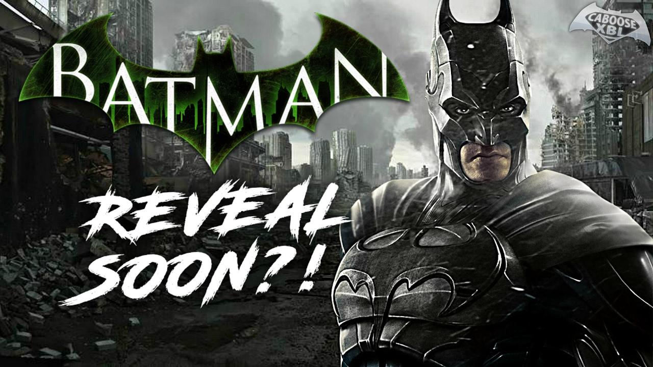 New Batman Arkham Game Reveal NEXT MONTH?! - YouTube