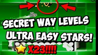 GEOMETRY DASH: GET ICONS FOR THE NEW UPDATE EARLY! VERY EASY STARS!