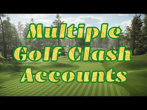How To Change Between Accounts In Golf Clash Using One Device