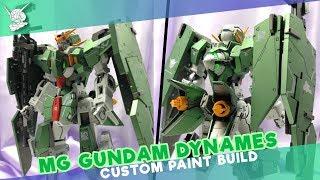 [M.S. Gundam 00] Bandai MG Gundam Dynames Custom Paint Build 力天使高达上色拼装