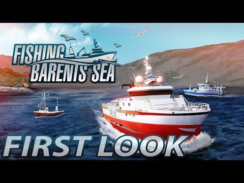 FISHING BARENTS SEA - How to catch fish? First Look! #1 [Gameplay]
