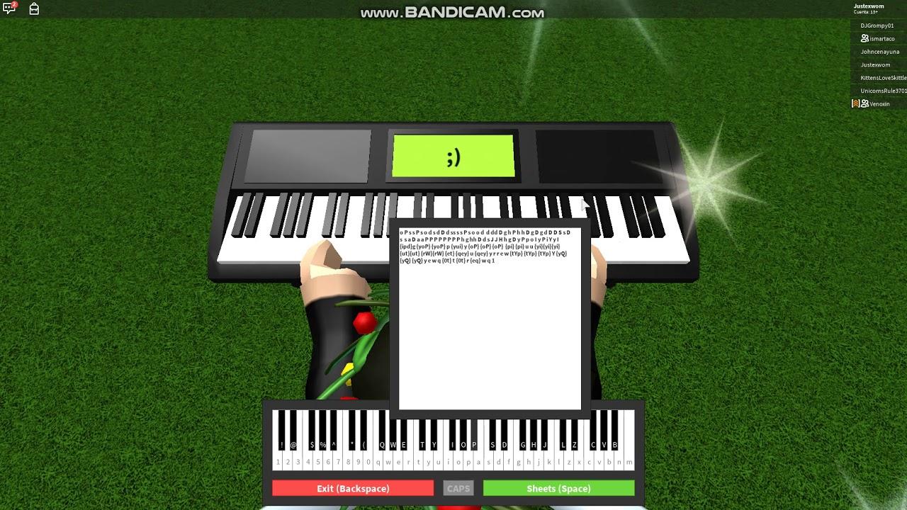 Killer Queen Roblox Piano Youtube
