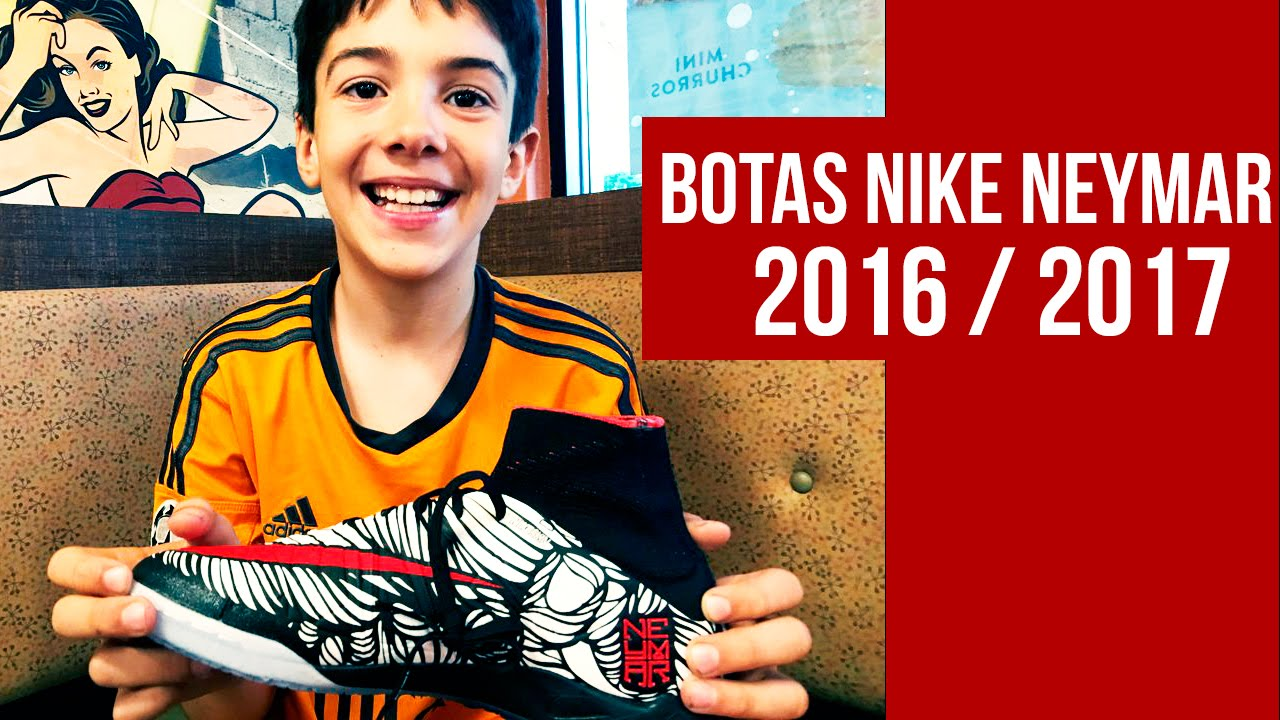f9d0cd6db3b2b Botas de Fútbol de Neymar Nike 2016 - 2017