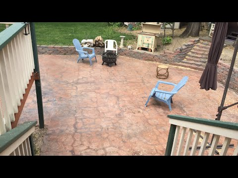 Spring Aircrete Patio Followup