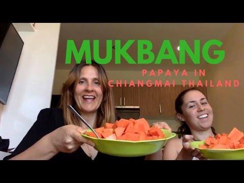 MUKBANG PAPAYA || LIVING YOUR LIFE!!!