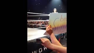 WWE GHOST WRESTLING MANIA LIVE TO KÖLN PAIGE AMAZING SHOW ;)