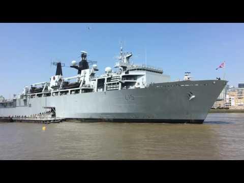 HMS Bulwark (L15) at Greenwich